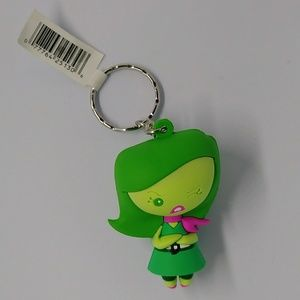 Disgust 3D Figural Keyring
